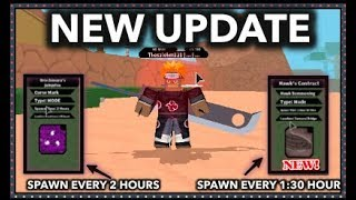 NEW SCROLL HAWK'S CONTRACT!!  NEW UPDATE!!   ROBLOX Naruto RPG: Beyond  