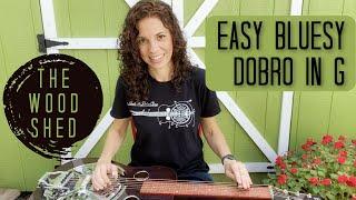 Beginner DOBRO LESSON - G blues Darlin Corey