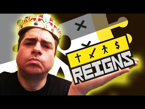 REIGNS ! HUNTAH THE GREEDY & his KINGDOM OF TERROR (1st Look Android / iOS Gameplay)