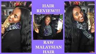 Repeat youtube video NICE WAVY VIRGIN HAIR!! DHairBoutique Raw Malaysia Hair Review