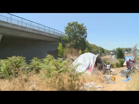 CalTrans Homeless Encampments Cause Controversy