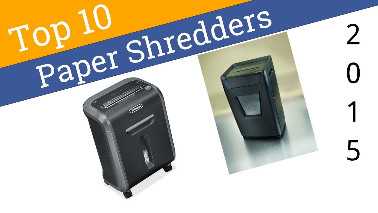 best paper shredders Get the best paper shredder to destroy your documents into an unreadable form here is the top ten best paper shredder list for you to make the search easy.