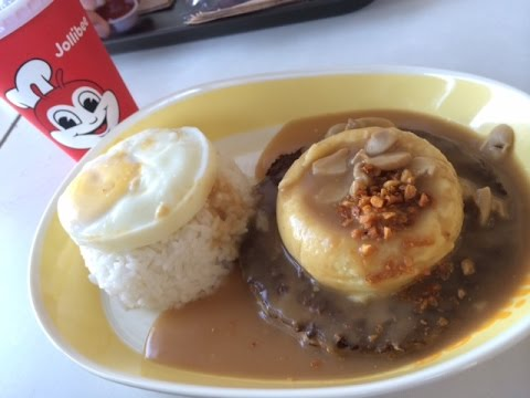 New Jollibee Ultimate Burger Steak With Mashed Potato Breakfast Meals By HourPhilippines