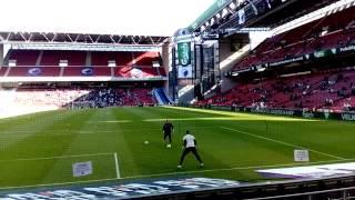 FCコペンハーゲンとFCミットユランの試合に行ってきました  その1