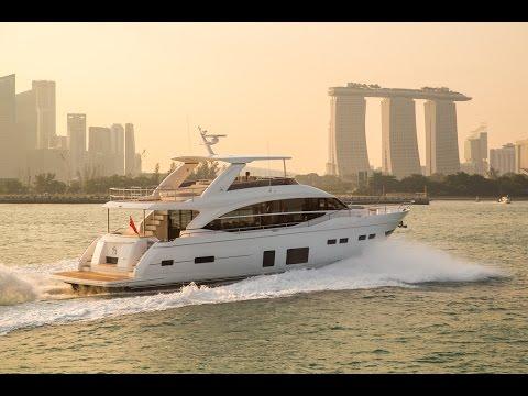 Princess 75 Motor Yacht | Flybridge motor yacht