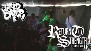 World Eater Live @ Return to Strength Festival 2014 (preview)