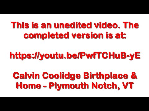 Calvin Coolidge's Summer Whitehouse - June 24, 2016 - Travels With Phil