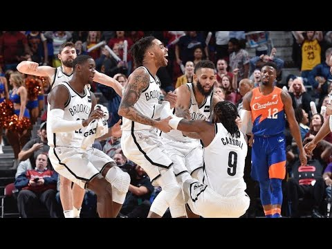 Brooklyn Nets Vs Cleveland Cavaliers Highlights 2/13/19 Goes To Triple-Overtime