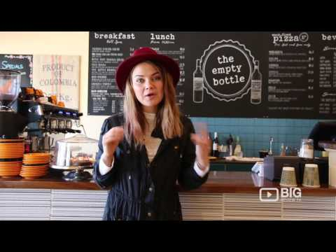 The Empty Bottle Cafe And  Restaurant In Adelaide For Coffee And Wood Fired Pizza