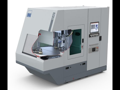 Установка лазерной очистки EMAG LC 4-2 - анимация