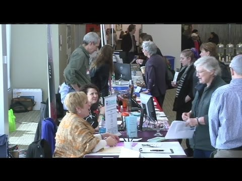 Career fair held at Greenfield Community College