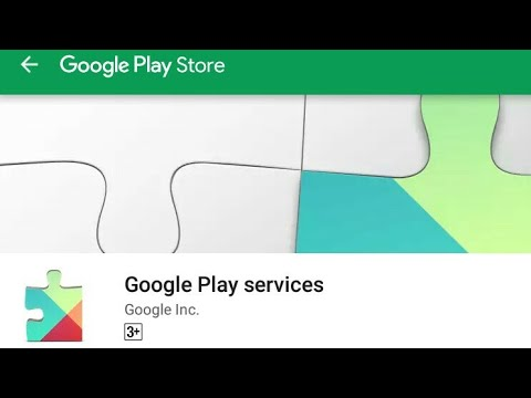 How to update google play services ? Or google play services won't run  unless ! Fix