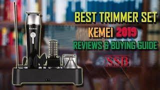 KM-1015 Kemei Beard Trimmer, Hair Clipper, Nose Trimmer Shaving Kit (Shaver Shop Bangladesh)