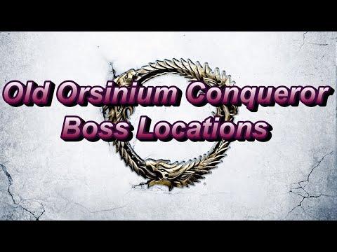 Old Orsinium Conquerer - Boss Locations