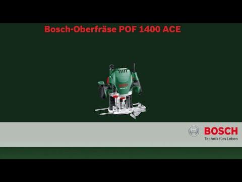 Bosch stellt vor oberfr se pof 1400 ace youtube - Bosch pof 1400 ace ...