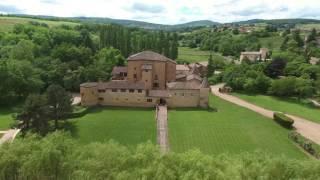 Chateau du Sou seen by drone 4K