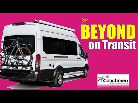 😍SPECTACULAR BEYOND 22D 🚐 Class B RV on Transit WHY COACHMEN❓Lithium 🔋 2 living spaces. Residential🏠