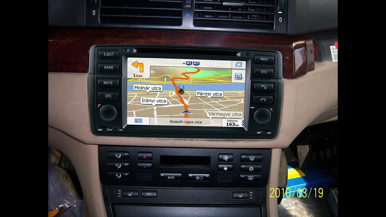 bmw navigation e46 m3 e46 dvd navigation system youtube. Black Bedroom Furniture Sets. Home Design Ideas