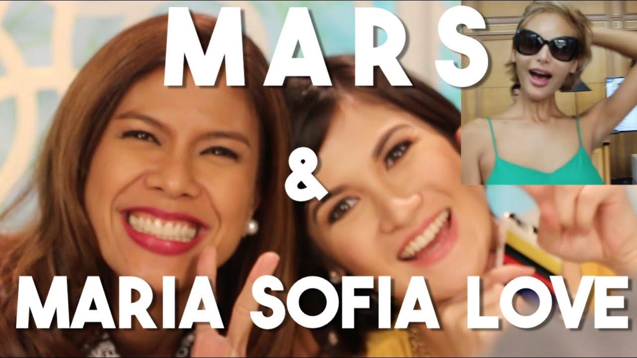 mars with maria sofia love filipino television gma