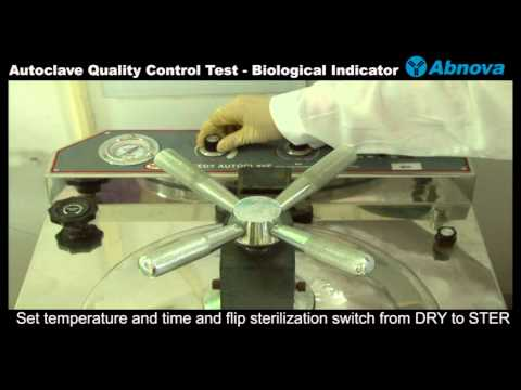 Autoclave Quality Control Test - Biological Indicator