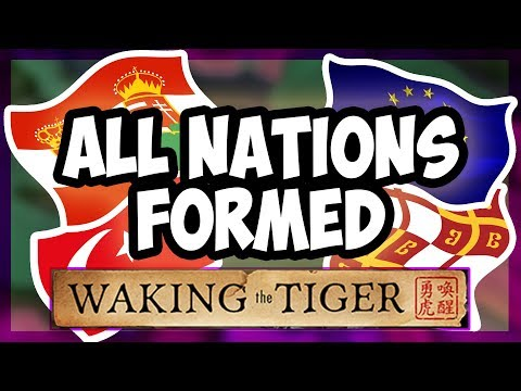HOI4 | What Happens When You Form All The Nations In Waking The Tiger? [Hearts of Iron 4] |