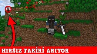 HIRSIZ VS POLİS #44 - Hırsız Fakiri Arıyor (Minecraft)