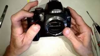 Shutter blade problem in Nikon D5000_________Motion Lapse Film