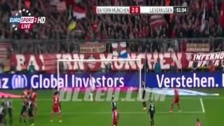اهداف مباراة بايرن ميونخ 2-1 باير ليفركوزن | الدوري الالماني [15/3/2014] تعليق اجنبي
