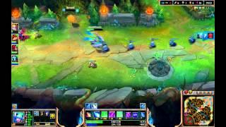 League of Legends EUNE DJ Sona inter bot game bot lane