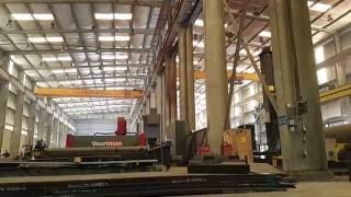 Welding structure steel fabrication works