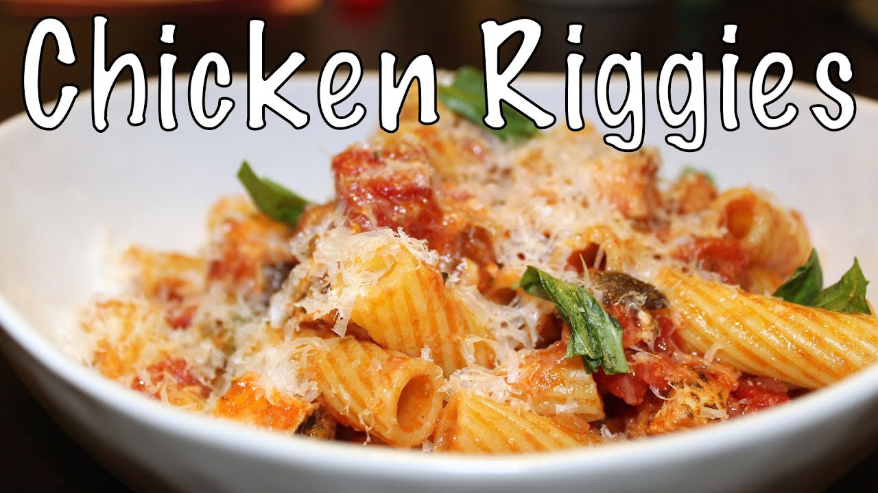 Chicken Riggies From Utica Ny Man Who Eats