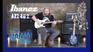 Namm 2020 Ibanez AZ2402PWF demo