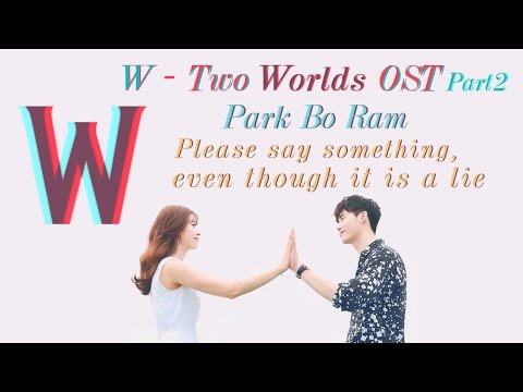 "[Karaoke+Thaisub] ""Please Say Something, Even Though It Is A Lie"" W OST Part2"