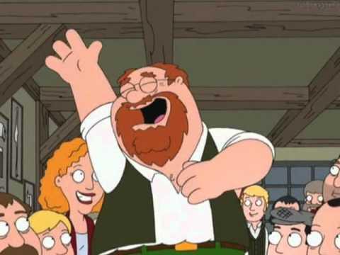 my drunken irish dad - Family Guy