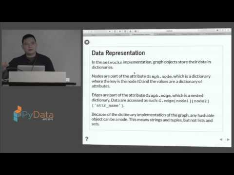 Eric J Ma: Network Analysis Fundamentals