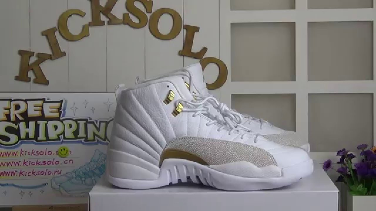 38421e171d3d Authentic Air Jordan 12 OVO 12s Review from www.kicksolo.cn - YouTube