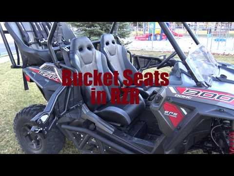 RZR Bucket Seat UTVMA Installment Tutorial