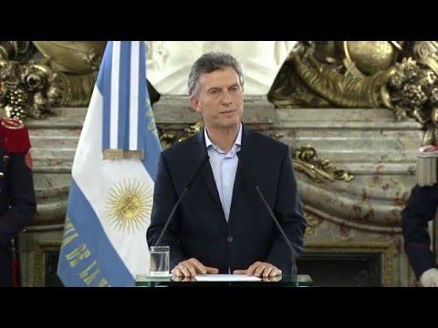 Macri, tras Panamá Papers : Tenemos que terminar con la corrupción, es algo que nos daña