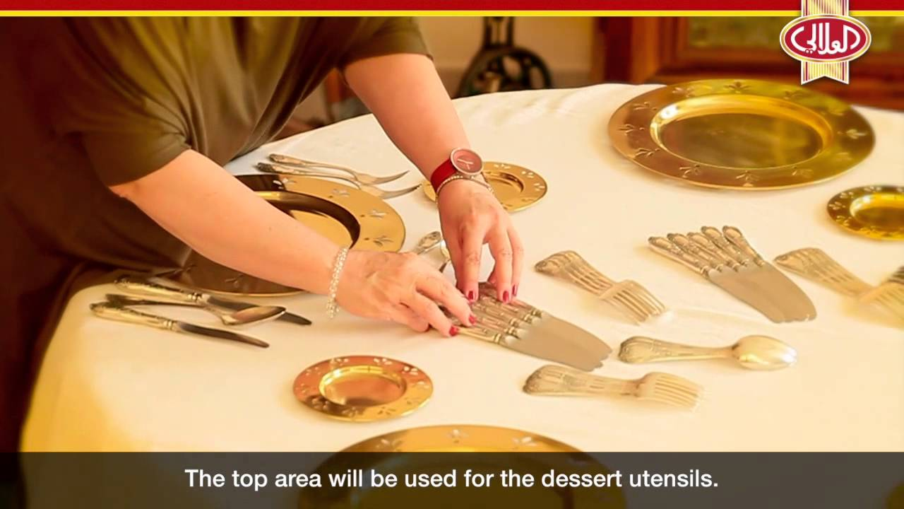 The In\'s and Out\'s of Table Settings: al alali Luxury Dinner Design ...