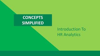 Introduction To HR Analytics