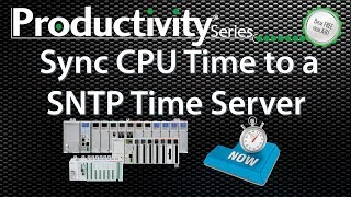 Productivity Sync Time to a SNTP Time Server Video