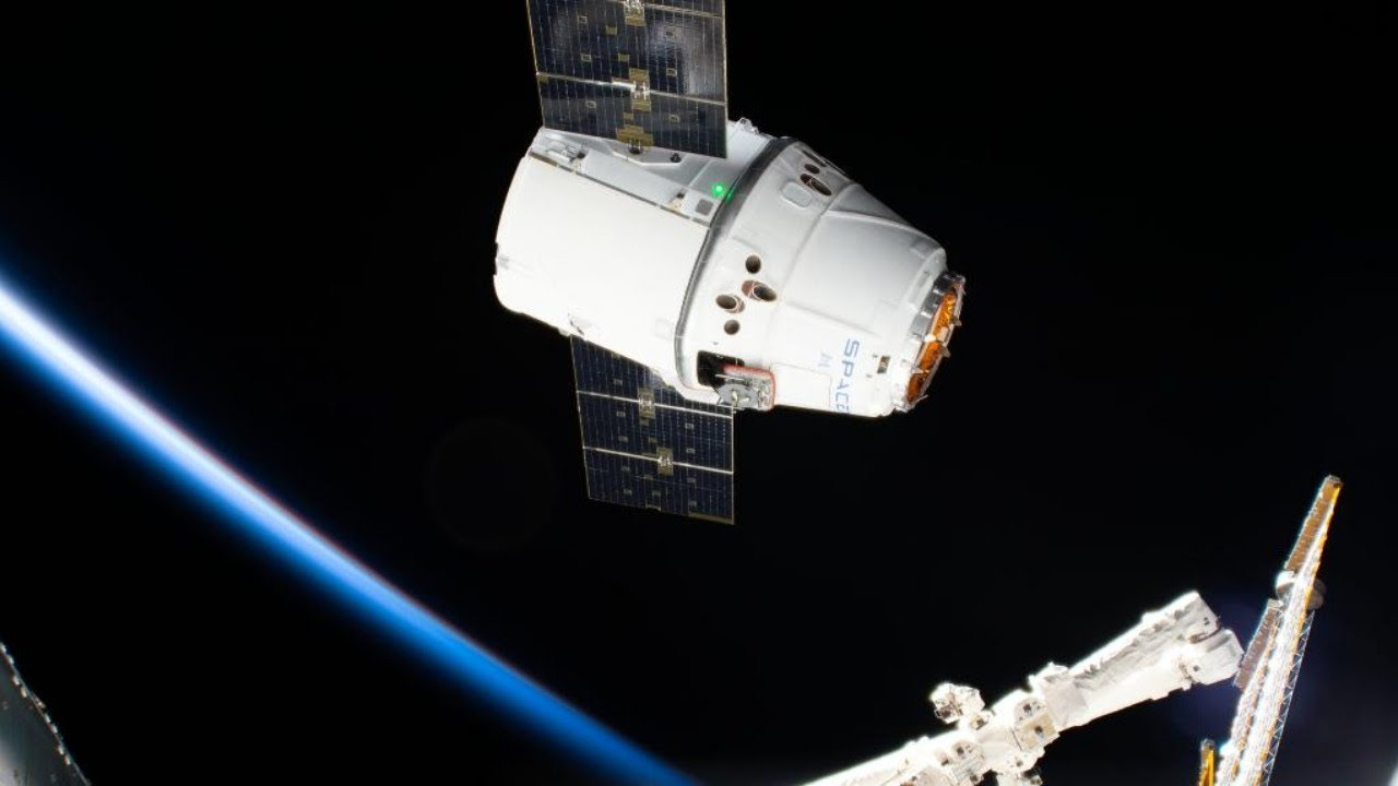 [Live] SpaceX Dragon Return to Earth from ISS   Splashdown ...