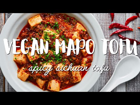 Vegan Mapo Tofu Recipe (麻婆豆腐)