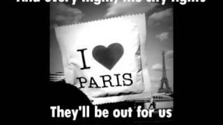 friendly fires - Paris Aeroplane Remix  ft. Au Revoir Simone lyrics
