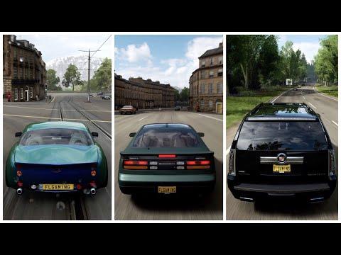Forza Horizon 4 |Nissan Fairlady 300ZX, Cadillac Escalade & TVR Tuscan S Gameplay thumbnail