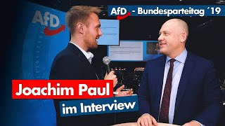 AfD-Parteitag | Joachim Paul im Interview
