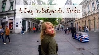 Belgrade Serbia Travel Vlog | American Tries Serbian Food!