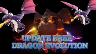 Clash of Clans Lava Hound UPDATE PREP - DRAGON EVOLUTION [ MAXED ]