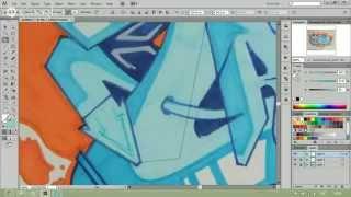 Как нарисовать граффити в Adobe Illustrator