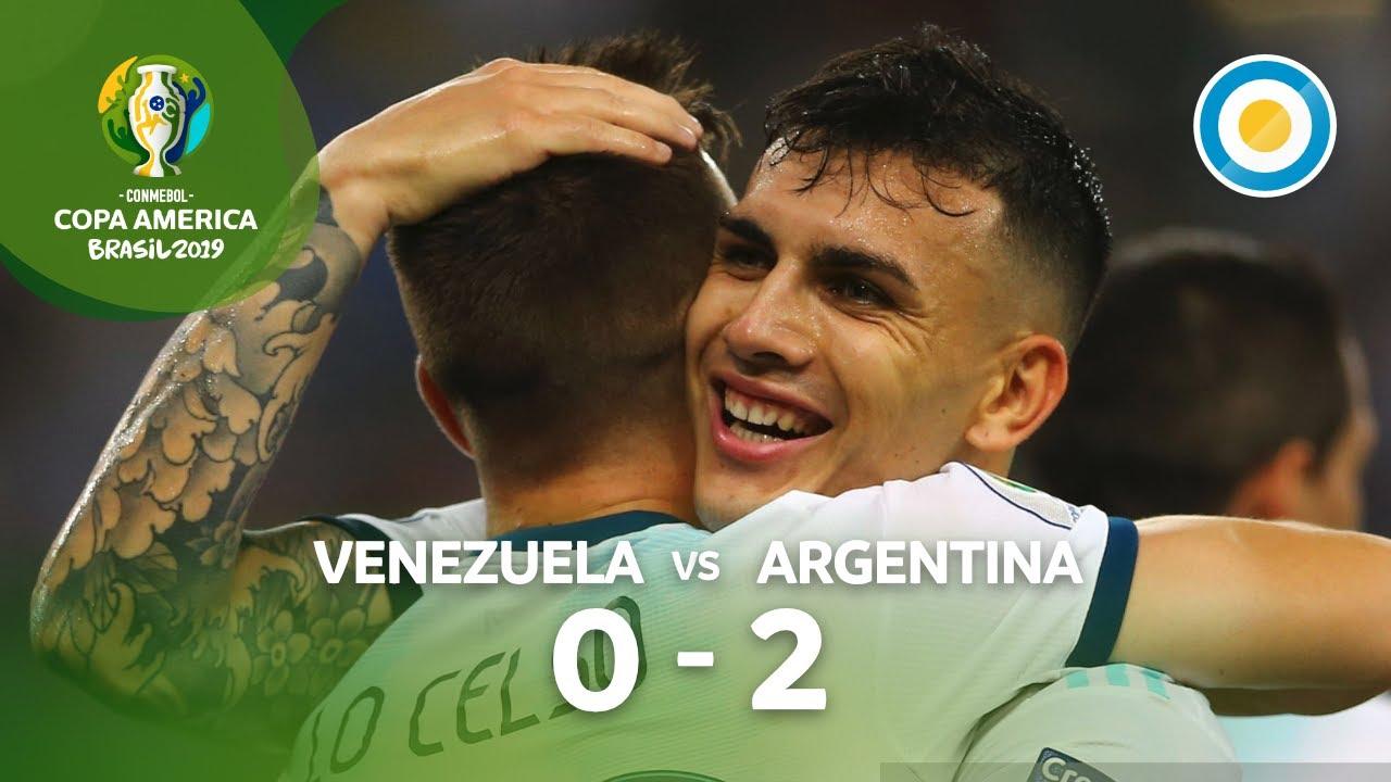 Gol de Giovani Lo Celso | Venezuela 0-2 Argentina | Copa América 2019
